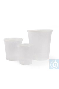 Lid for conical PP jars 2500 ml Lid for conical PP jars 2500 ml