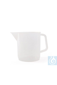 Graduated jugs in PP with embossed scale 5000 ml, with handle and spout Graduated jugs in PP with...