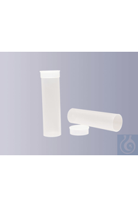 Specimen tube with cap, made of PP, 60 ml, D 31 x H 110 mm Specimen tube with cap, made of PP, 60...
