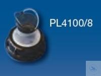 Schraubkappe DIN 51 mit Balg Ausgießer, geeignet für stapelbare UN Kanister...