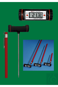 3Articles like: Electronic digital thermometer, Multi, -50...+200:0,1°C, piercing probe of...