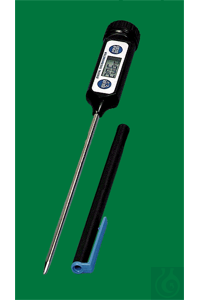 Electronic digital thermometer, Maxi-Pen, -50...+200:0,1°C, switchable °F,...