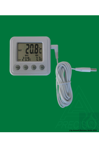 Electronic indoor-/outdoor thermometer