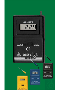 Elektronisches Digital Thermometer, ad 15 th, -40...+120:0,1°C,...