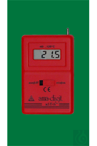 Electronic digital thermometer, ad 15 th, -40...+120:0,1°C, semi conductor of...