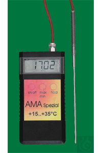 9Artículos como: Electronic digital thermometer, Ama Spezial, -20...0:0,01°C, probe of...