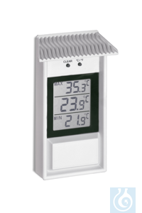 Electronic Maximum-Minimum-Six-Thermometer, -25...+70:0,1°C, switchable °F,...