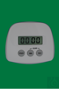 Timer, 99 min 59 sec, for standing and hanging and with magnet, casing white, 70x60x16mm