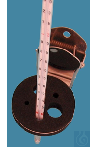 Labo-Clip, quick bracket with clamp, with 5 holes, solid design