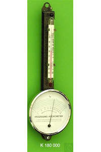 Refill thermometer for Polymeter with thermometer, enclosed scale, -30+50:1°C, capillary...