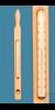 3Artikel ähnlich wie: Zylinderthermometer in Holzzwinge, Einschlussform, 0+50:1°C, Kapillare...