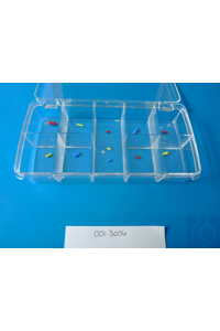 PTFE magnetic stirrer bars, boxed assortments, 12 colored micro (R-B-Y)) PTFE magnetic stirrer...