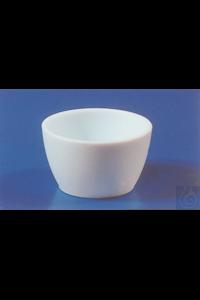 Creuset en PTFE, hauteur x diamètre, 45 x60 mm, 100 ml Creuset en PTFE, hauteur x diamètre, 45...