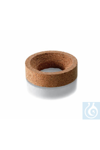 Cork rings, height 30 mm, outside x inside Ø 140 x 90 mm, for Flask up to 500 - 1000 ml