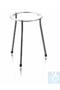 Tripod stand, stainless steel, inside Ø 160 mm, height 230 mm