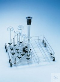 E340 Injektorwagen für Enghalsglas für Laborglas-Reinigungsautomaten G...