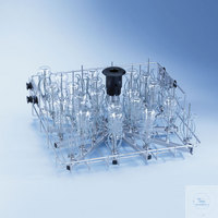 OberkorbO 187 • Zur Aufnahme von Enghals-/Laborglas • 34 Injektordüsen •...