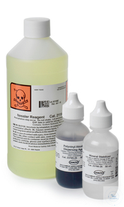 Nitrogen, Ammonia; Set 0.02-2.5 mg/L; Nessler method Nitrogen, Ammonia; Set...