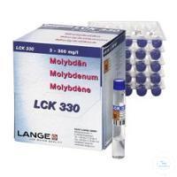 Molybdenum cuvette test measuring range 3-300 mg/l Molybdenum cuvette test...