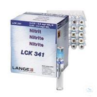 Nitrite cuvette test meas. range 0.015.0.6 mg/l NO2-N Nitrite cuvette test...