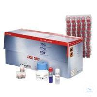 TOC cuvettte test (difference meth. measuring range 60-735 mg/l TOC TOC...