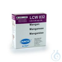 + Manganese pipette test measuring range 0.02-5.0 mg/l * + Manganese pipette...