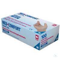 Med Comfort 1291 Größe XS Einweg-Handschuhe, puderfrei, unsteril, keine...