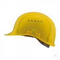 Schutzhelm Baumeister 80, gelb, 9249020516 Standard-Bauhelm. Integrierte,...