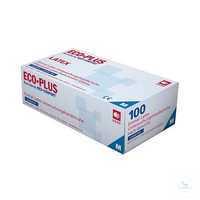 Latex Einmalhandschuh EcoPlus puderfrei 01038 Größe XS Latex-Einmalhandschuh,...