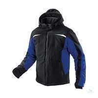 Wetter-Dress Jacke 1041 7322 9946 schwarz-kornblumenblau Größe XS 2...