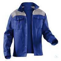 Arbeitsjacke IDENTIQ cotton 1044 1314 4695 kornblumenblau-mittelgrau Größe...