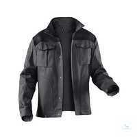Arbeitsjacke IDENTiQ cotton Jacke 1044 1314 9799 anthrazit-schwarz, Größe 102...