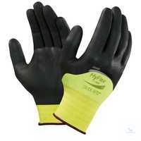 HyFlex®11-402 Größe 10 Wasserbasiertes Polyurethan erhöht Tragekomfort und...