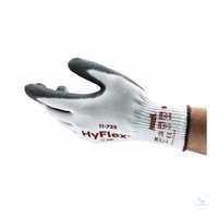 HyFlex® 11-735 Größe 10 Montagehandschuh von exzellenter Flexibilität und...