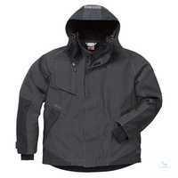 GORE-TEX® Jacke 4998 GXB grau-schwarz, Größe XS 2-lagiges GORE-TEX®-Material,...