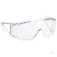 Überbrille Polysafe Bügelbrille mit Rundum-Schutz, die sich anatomisch um den...