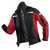 Ultrashell-Jacke 1141-5227-9955 schwarz-mittelrot Größe XS Kontrast-Elemente:...
