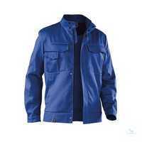 Arbeitsjacke 1158 3411 46 kornblumenblau Größe 102 2 Brusttaschen mit Patte...