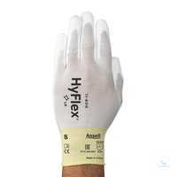 HyFlex® Polyurethan Strickfutter 11-600 Größe 10 Atmungsaktiv, hohe...