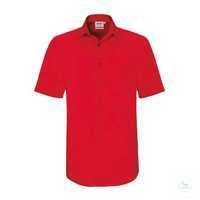 Hemd ½ Arm Performance 122-02 Rot Größe XS Besonders strapazierfähiges Hemd...