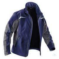 Softshell Jacke 1241-7322-4897 dunkelblau-anthrazit Größe XS 2 eingearbeitete...