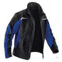 Softshell Jacke 1241 7322 9946 schwarz-kornblumenblau Größe XS 2...