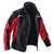 Softshell Jacke 1241-7322-9955 schwarz-mittelrot Größe XS 2 eingearbeitete...