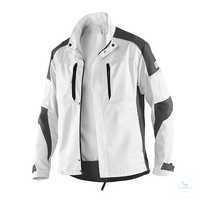 ACTIVIQ Jacke 12505365 1097 weiß-anthrazit Größe XS Körperbetonter Schnitt,...