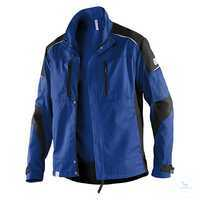 ACTIVIQ Jacke 12505365 4699 kornblumenblau-schwarz Größe XS Körperbetonter...