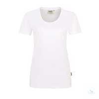 Women-T-Shirt Classic 127-01 weiß Größe XS Klassisches T-Shirt für Damen mit...