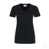 Women-T-Shirt Classic 127-05 schwarz Größe XS Klassisches T-Shirt für Damen...
