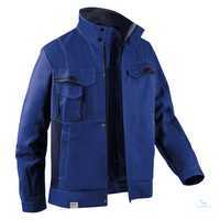 Jacke 1345 3411 4648 kornblumenblau-dunkelblau Größe 102 2 Brusttaschen mit...