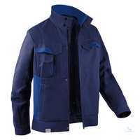 Jacke 1345 3411 4846 dunkelblau-kornblumenblau Größe 102 2 Brusttaschen mit...