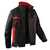 Jacke 1345 3411 9955 schwarz-mittelrot Größe 102 2 Brusttaschen mit Patte und...